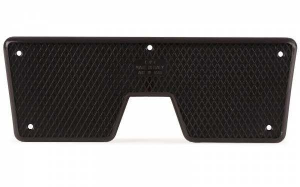 Heckschutzplatte für Außenborder Kunststoff Klein Schwarz Bild 1