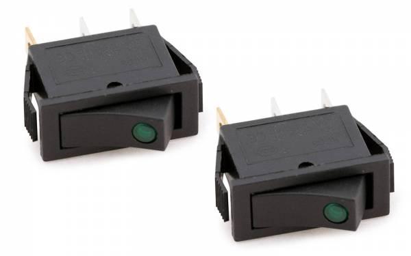 Kipschalter grüne LED Bild 1