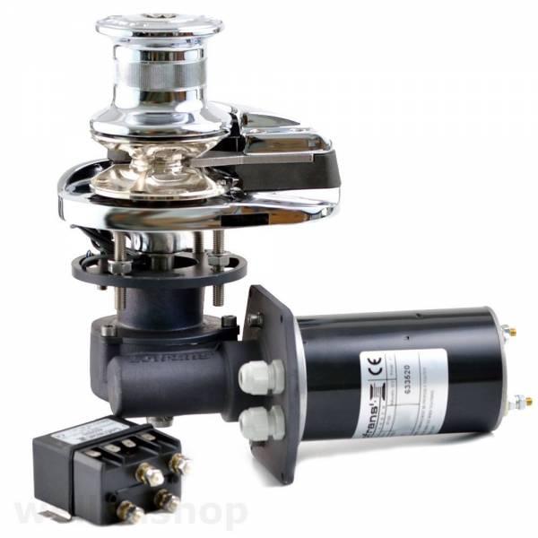 Lofrans X1 Ankerwinde vertikal Ø 6 mm Kette mit Spill Bronze 700W 12V bild 1