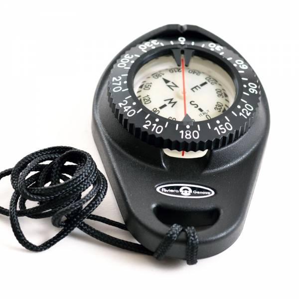 Riviera Peilkompass Bootskompass Kompass Handkompass Schwarz Bild 1
