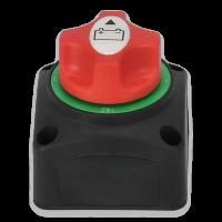 Batterie-Umschalter 6 - 48 V 250 A Aufbaumontage