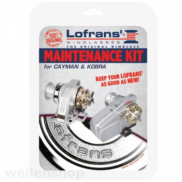 Lofrans Kobra & Cayman Ankerwinde Instandhaltungskit Reparaturset Bild 1