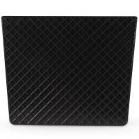 Heckschutzplatte für Außenborder 450x360mm Kunststoff trapezförmig Schwarz Bild 2