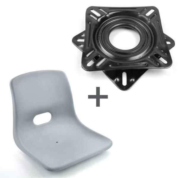 Sitz und Konsole mit Gleitlager Bild 1