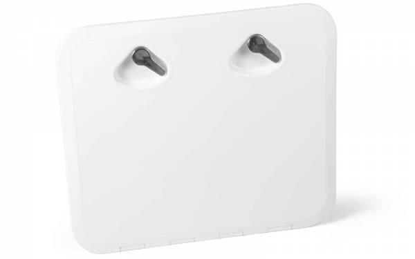 Inspektionsluke Inspektionsklappe Boot KROME 460 x 510 mm Weiß Bild 1