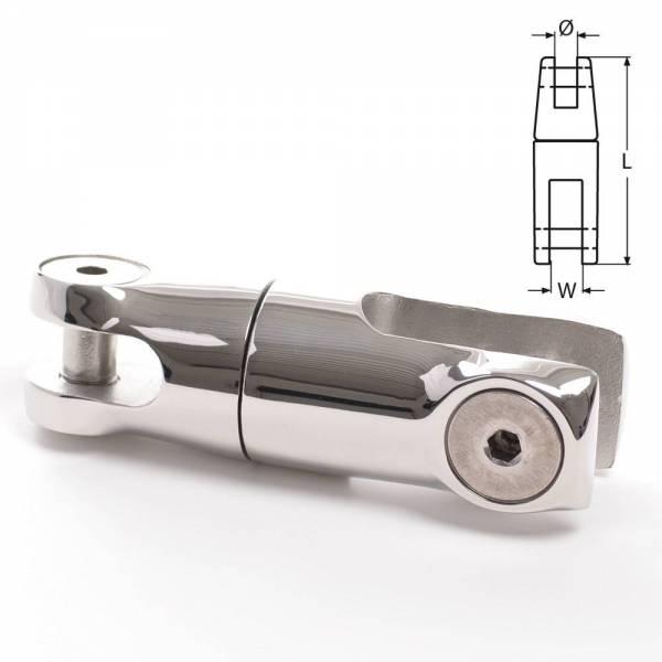 Ankerwirbel 120 mm für 10 - 13 mm Kette Edelstahl Bild 1