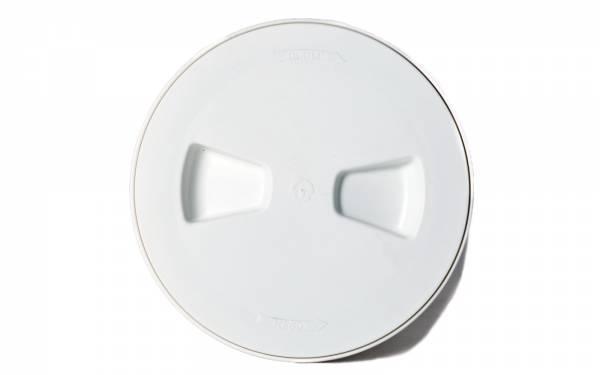 Inspektionsdeckel Weiß Ø 190 mm Bild 1