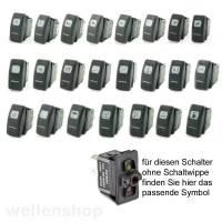 12V LED Kippschalter Bedienpanel Treibstoff Bild 2