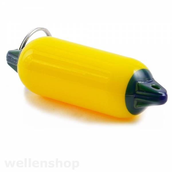 Schlüsselanhänger Fender Gelb Bild 1