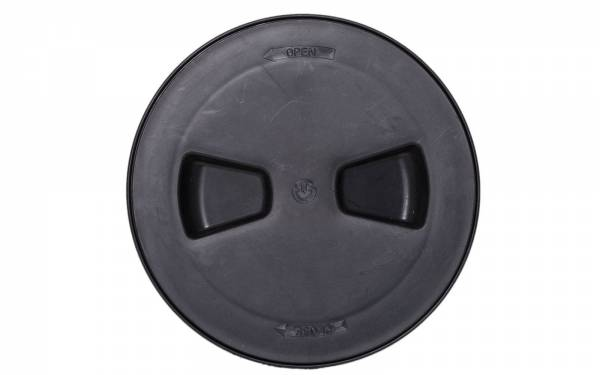 Inspektionsluke Rund 190 mm Kunststoff Schwarz Bild 1