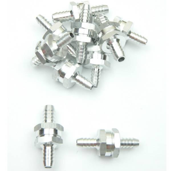 Rückschlagventil für 8 mm Schlauch, Aluminium Bild 1