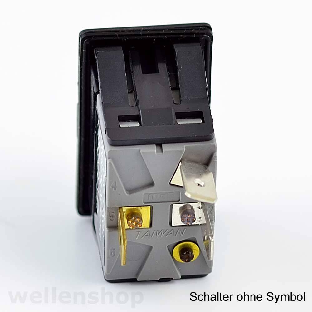 LED Kippschalter Schalter ON-OFF-ON Symbol 12V 25A Boot Elektronik Schaltung