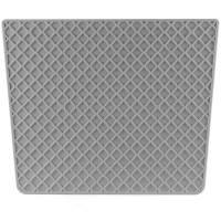 Heckschutzplatte für Außenborder 450x360mm Kunststoff trapezförmig Grau Bild 2