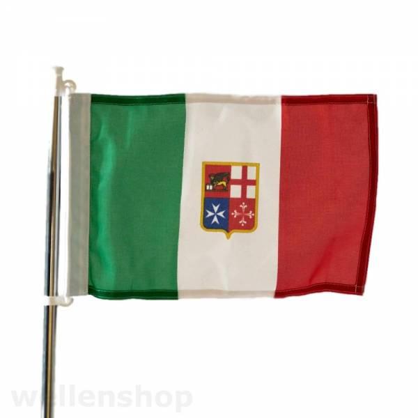 Flagge Italien 30 x 45 cm Polyester UV-beständig Bild 1