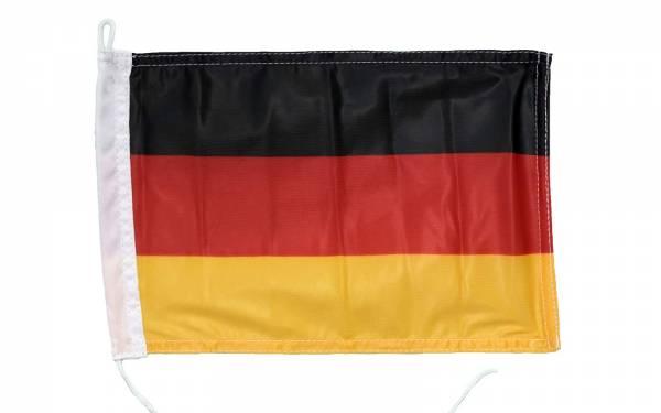 Deutschland-Flagge 30 x 45 cm Polyester UV-beständig Bild 1