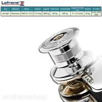 Lofrans X2 Ankerwinde Ø6mm Kette mit Spill Aluminium 1000W 12V bild 2