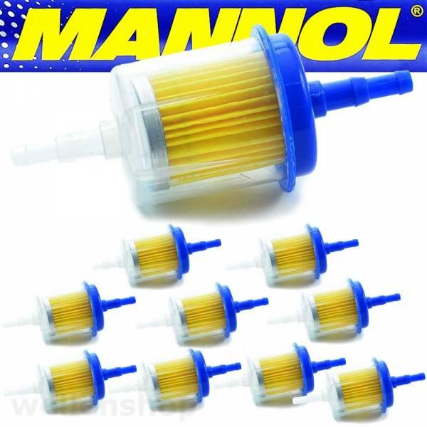 10 x 6mm / 8 mm Benzinfilter Kraftstofffilter Bild 1
