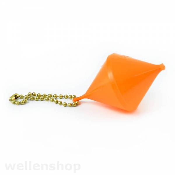 Schlüsselanhänger Boje bikonisch Orange Bild 1