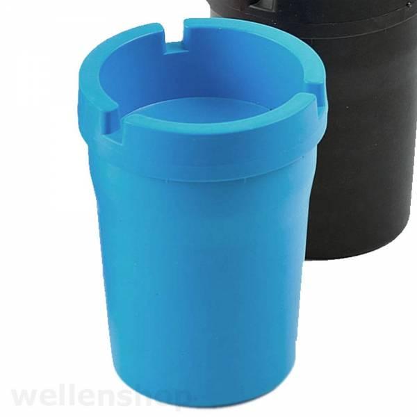 Aschenbecher Kunststoff Blau Bild 1