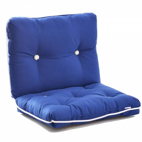Kapokkissen zweiteilig royalblau Bild 1