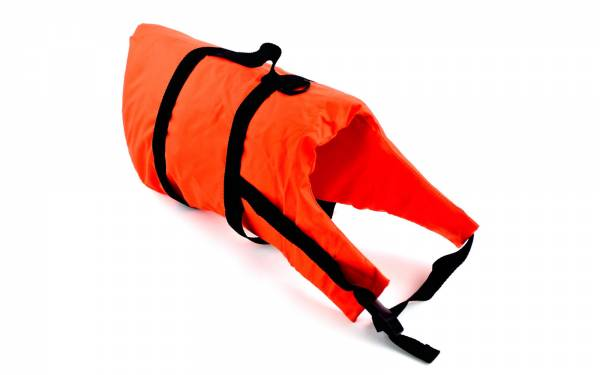 Schwimmweste Hund ab 40 kg Brustumfang 46 - 82 cm mit Bergegriff Bild 1