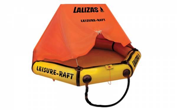 Lalizas Rettungsinsel Leisure-Raft mit Dach für 4 Personen Bild 1