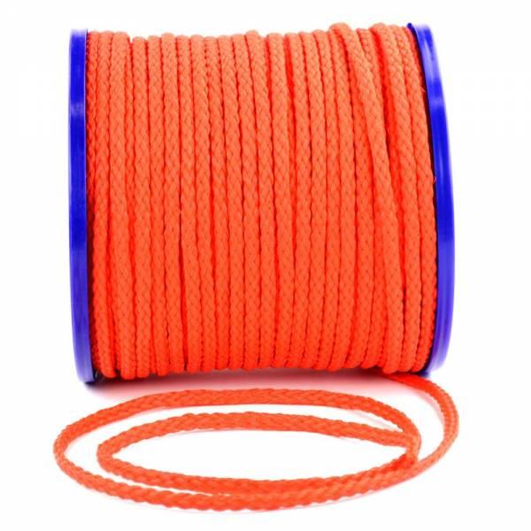 Seil Ø8 mm Länge 5 m Kunststoff PE Orange Schwimmfähig Bruchlast 400kg