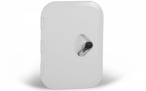 Inspektionsluke Inspektionsklappe Boot KROME 270 x 375 mm Weiß Bild 1