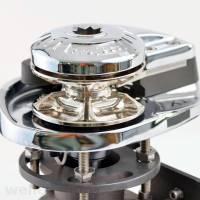 Lofrans X1 Ankerwinde vertikal Ø 6 mm Kette ohne Spill Bronze verchromt 500W 12V bild 7