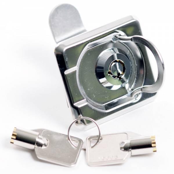 Einlassgriff mit Schloss Schlüssel 55 x 48 mm Bild 1