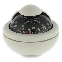 Kompass zur Aufbaumontage Grau