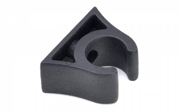Bootshakenhalter 22 - 24 mm Schwarz Bild 1