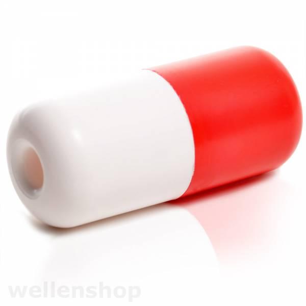 Markierungsboje rot/weiß