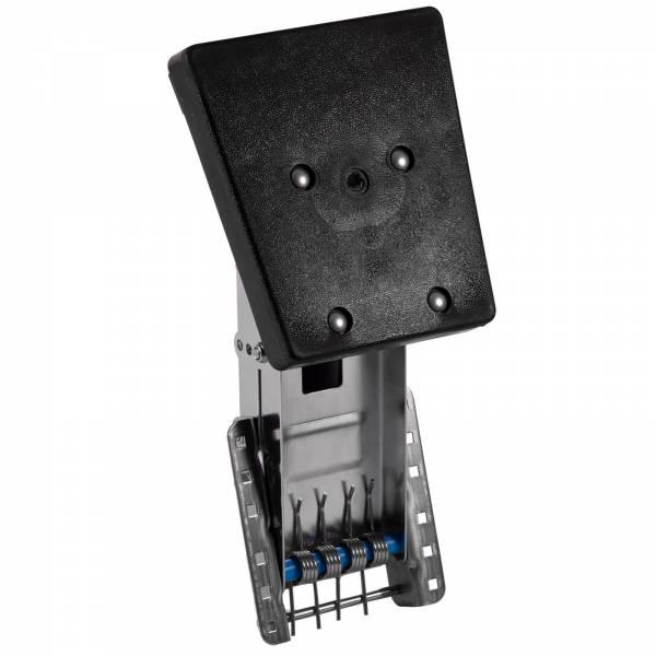 Motorhalter bis 25 PS 4 Positionen Edelstahl Kunststoff Schwarz Bild 1